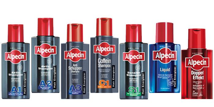Alpecin hajhullás elleni készítmények