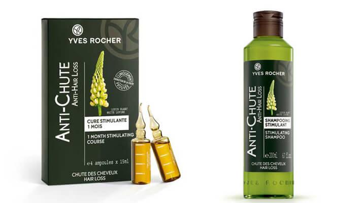 Yves rocher hajhullas elleni kúra és sampon